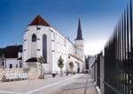 Schip van de Kerk Oprichting Heilig-Kruis in Litomysl