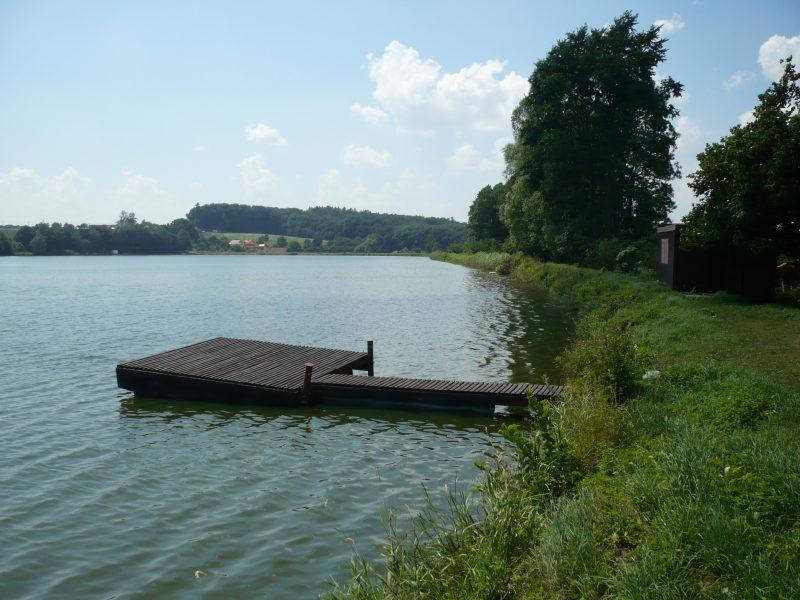 obrázek k Areál vodních sportů v Nedošíně