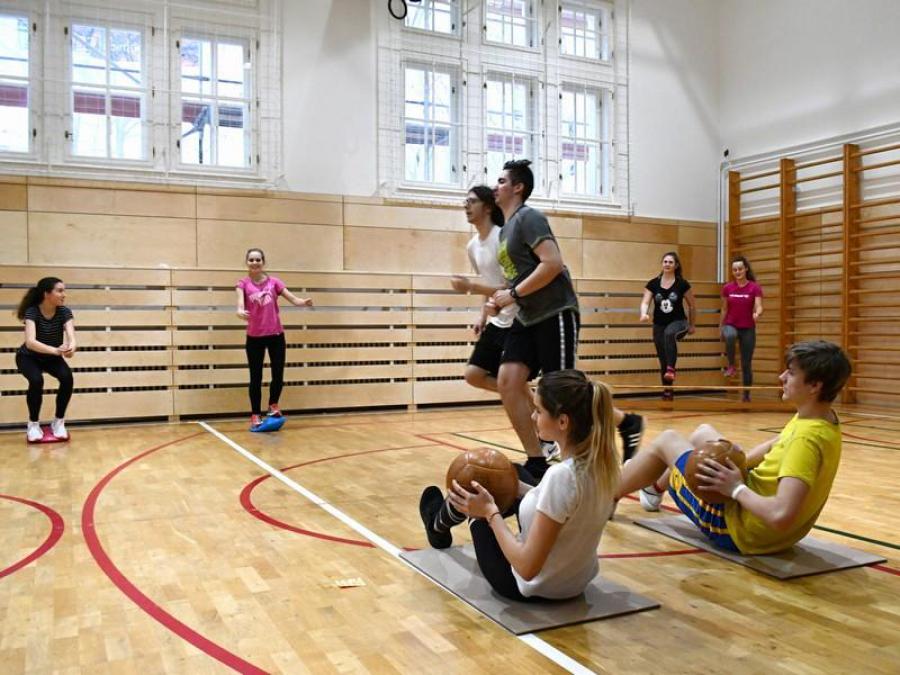 obrázek k Tělocvična na litomyšlském gymnáziu