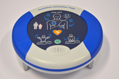 Dorazil defibrilátor pořízený zparticipativního rozpočtu