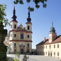Piaristický kostel Nalezení sv. Kříže