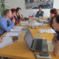 Jednání projektového týmu 27.9.2016