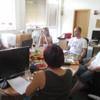 Jednání projektového týmu