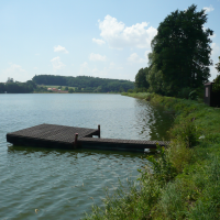 Pohled na rybník