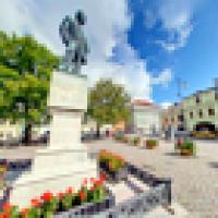Smetanovo náměstí - Pomník Bedřicha Smetany
