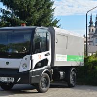 obrázek k aktualitě Odpadky vyváží elektromobilem