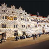 obrázek k Atmosféra prvního nádvoří při festivalu Smetanova Litomyšl