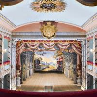 obrázek k Zámecké divadélko s originály kulis od Josefa Platzera