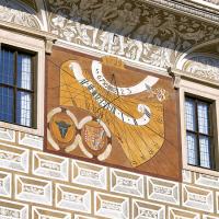 obrázek k Sluneční hodiny na jižní straně litomyšlského zámku