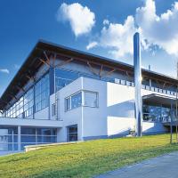 obrázek k Městská sportovní hala autorů Aleše Buriana a Gustava Křivinky