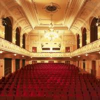 obrázek k Hlavní sál Smetanova domu se honosí pozoruhodnou secesní uměleckou výzdobou