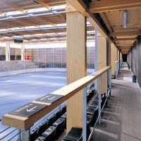 obrázek k Interier zastřešeného zimního stadionu, autor návrhu Aleš Burian