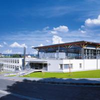 obrázek k Městská sportovní hala s budovou III. základní školy, autorem architekt Aleš Burian