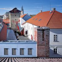 obrázek k Areál Fakulty restaurování University Pardubice s tzv. Červenou věží