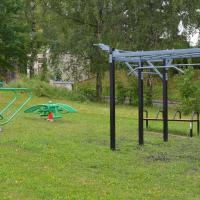 obrázek k Workoutové hřiště na městském stadionu