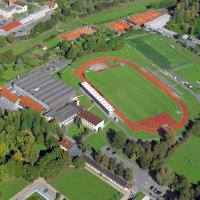 obrázek k Tribuna letního stadionu Černá hora
